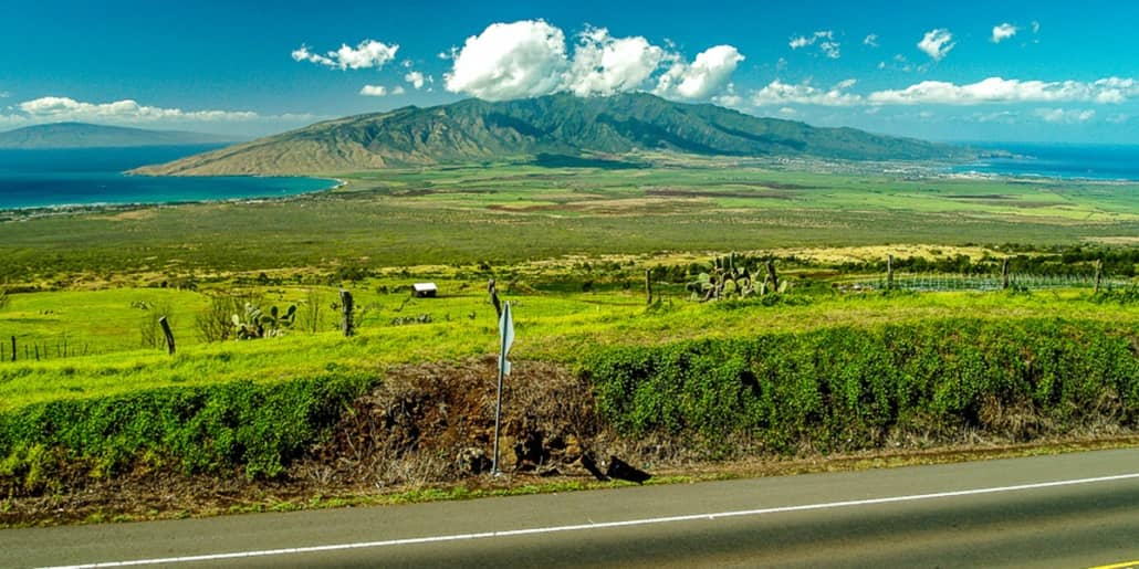 Upcountry Kula Rice Park West Maui Mountains