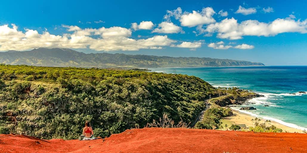 Waimea Bay Overlook Scenic North Shore 1200x600