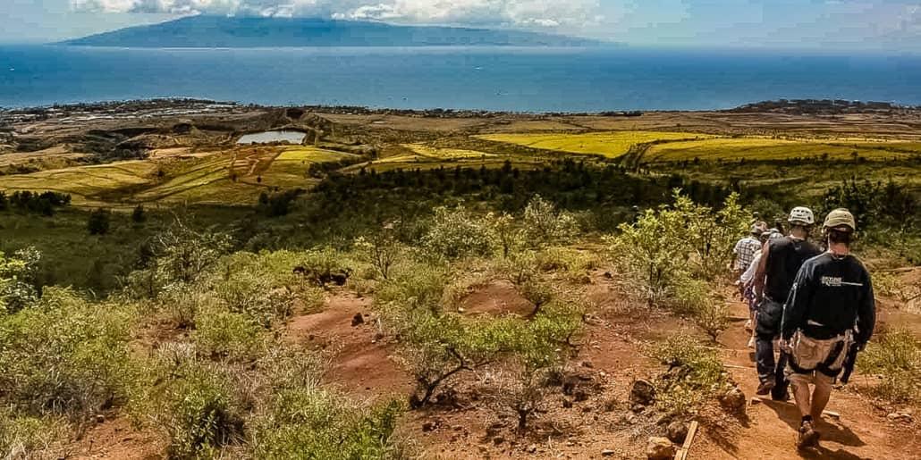Zipline Hikers Kaanapali Maui