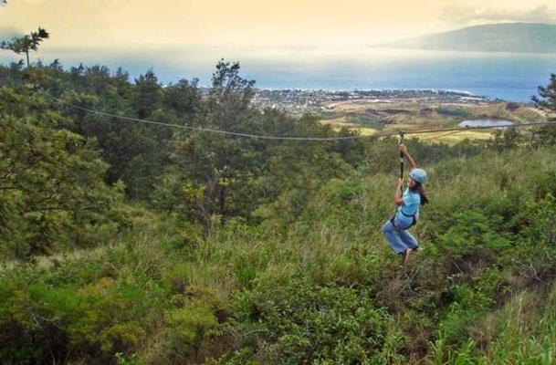 Kaʻanapali 8 Zipline Adventure