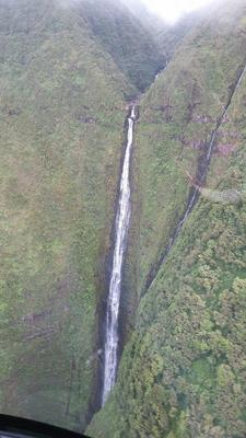 Honokohau Waterfall Maui Hawaii Helicopter tour