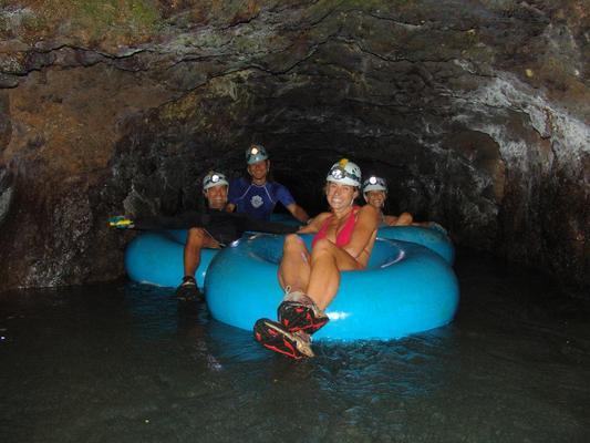 Mountain Tubing Visitors Tunnel Kauai