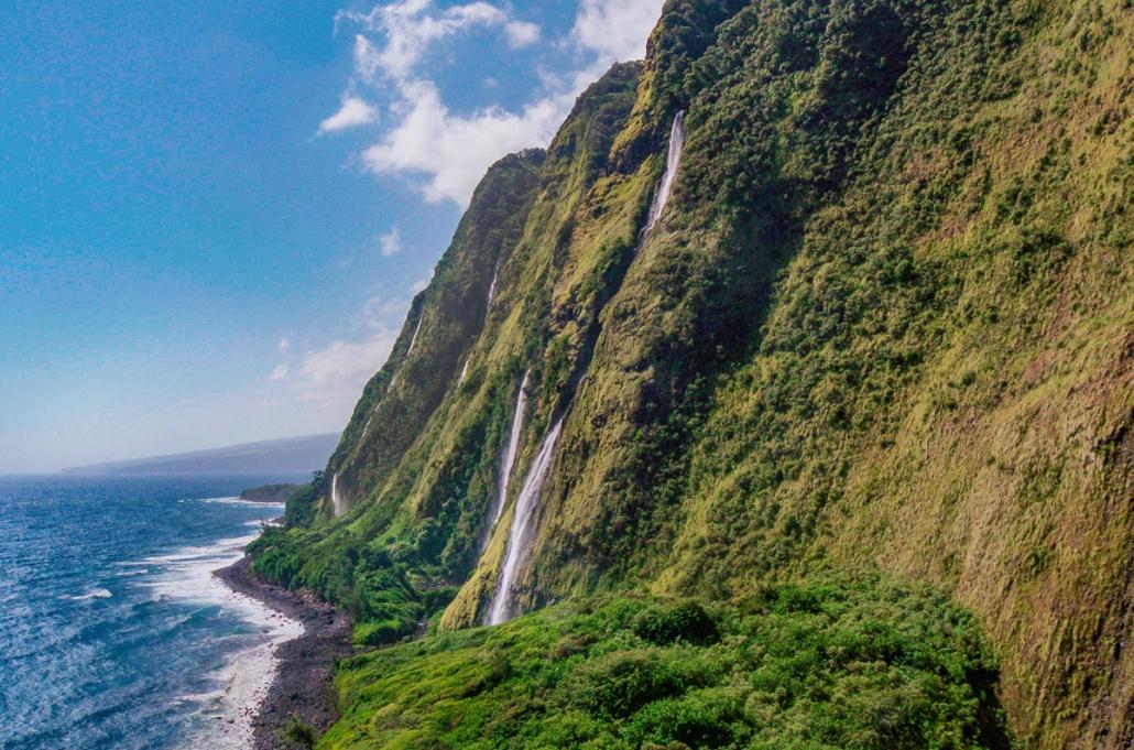 Bigisland Helicopter Sea Cliffs