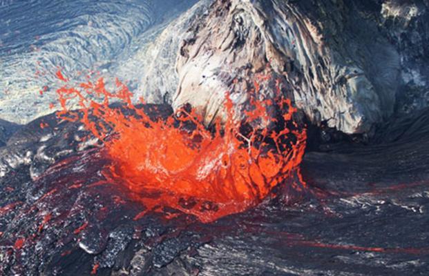 Volcano Eruption On Big Island