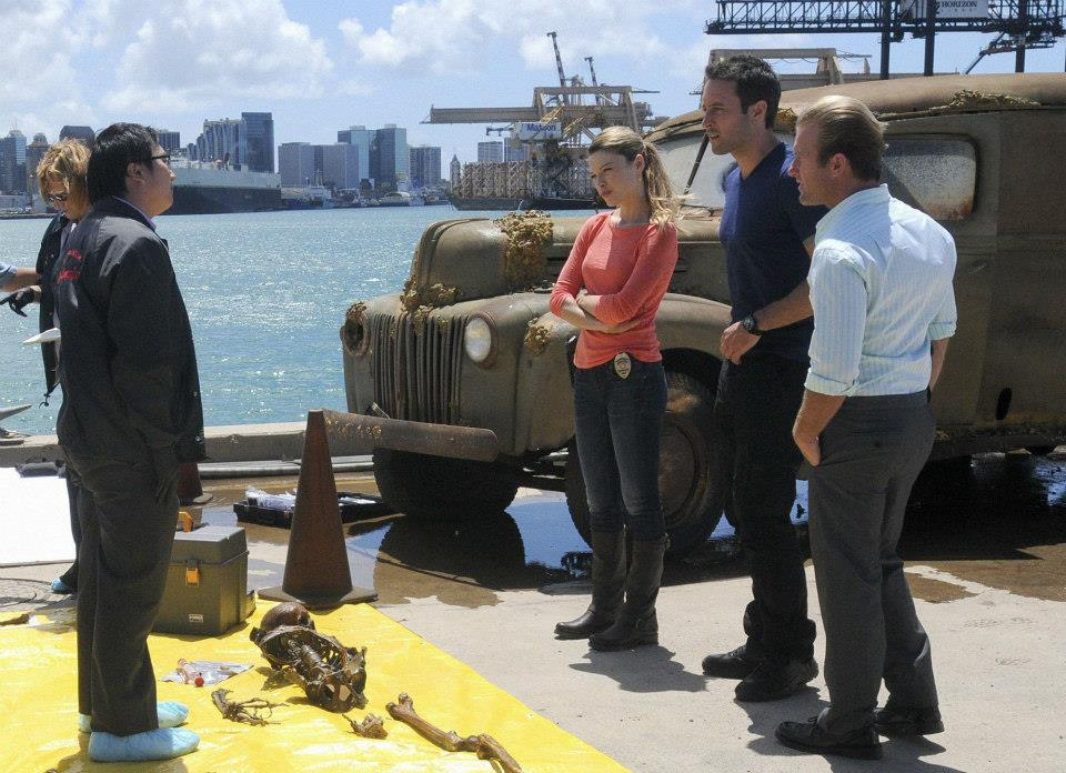 hawaii five O at harbor