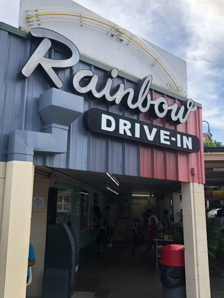 hawaii five 0 rainbow drive-in