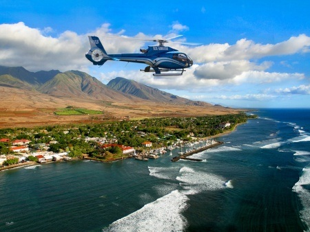 stunning landscapes west maui and molokai helicopter tour