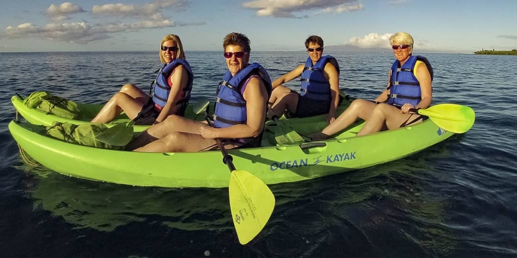 Kayak doubles Ocean Hawaii by HPS