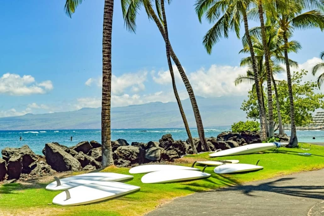 Big Island Surf Boards Beach Kona