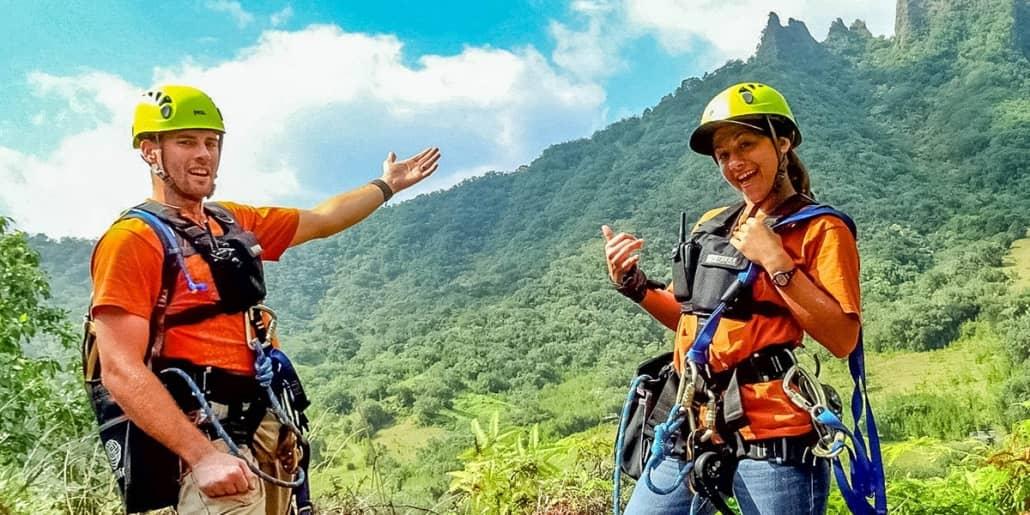 Kualoa Ranch Zipline Guides Fun Oahu Kualoa Ranch Photo