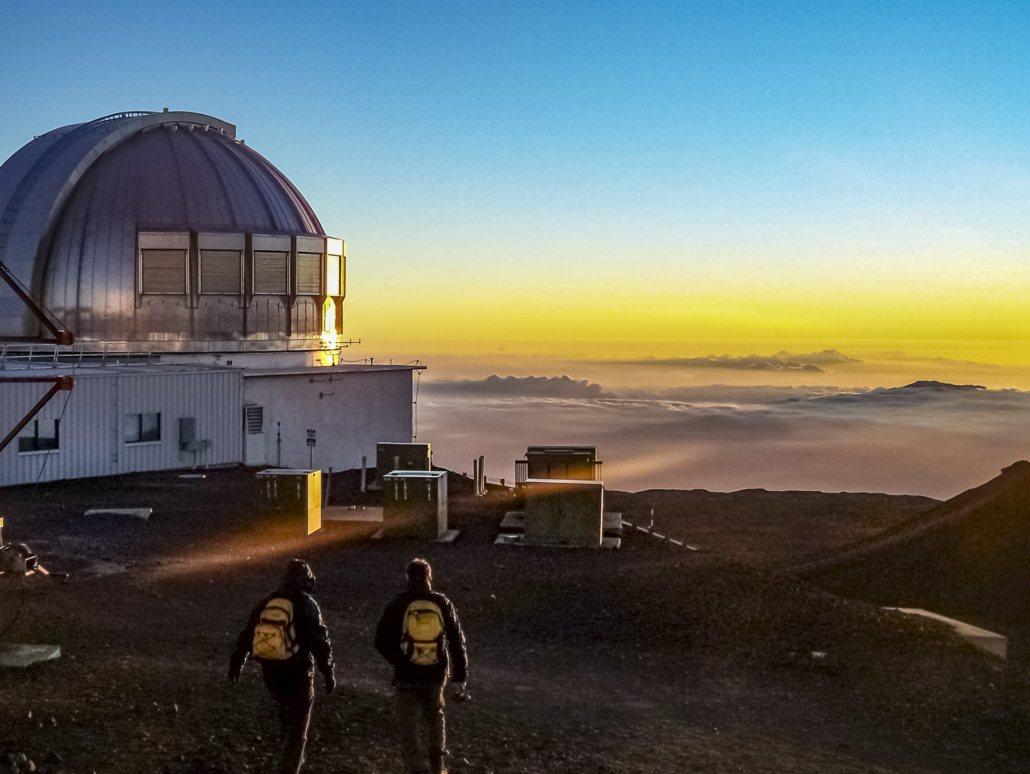 Mauna Kea Telescope Sunset shutterstock
