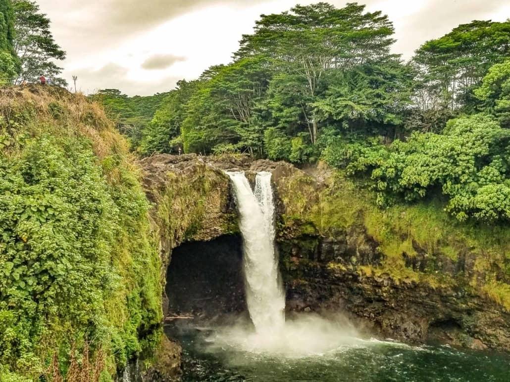 Rainbow Falls Hilo Big Island by Kathleen Anderson
