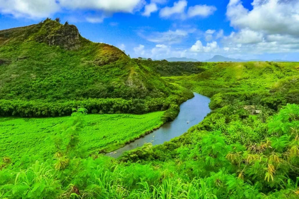 Wailua River Overlook Kauai shutterstock_690314608