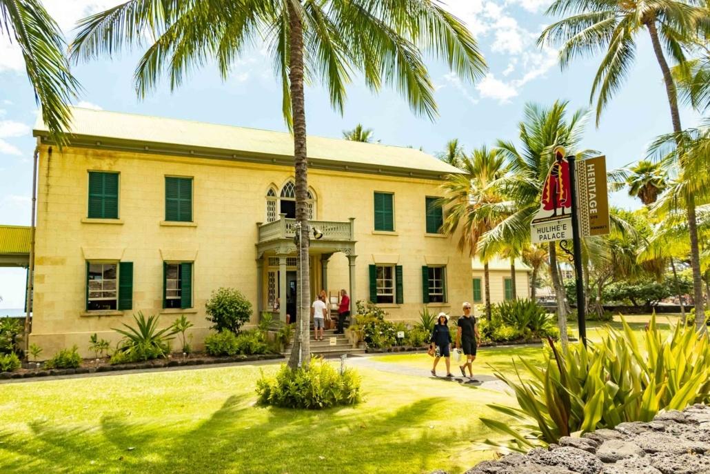 Hulihe'e Palace Kona Big Island