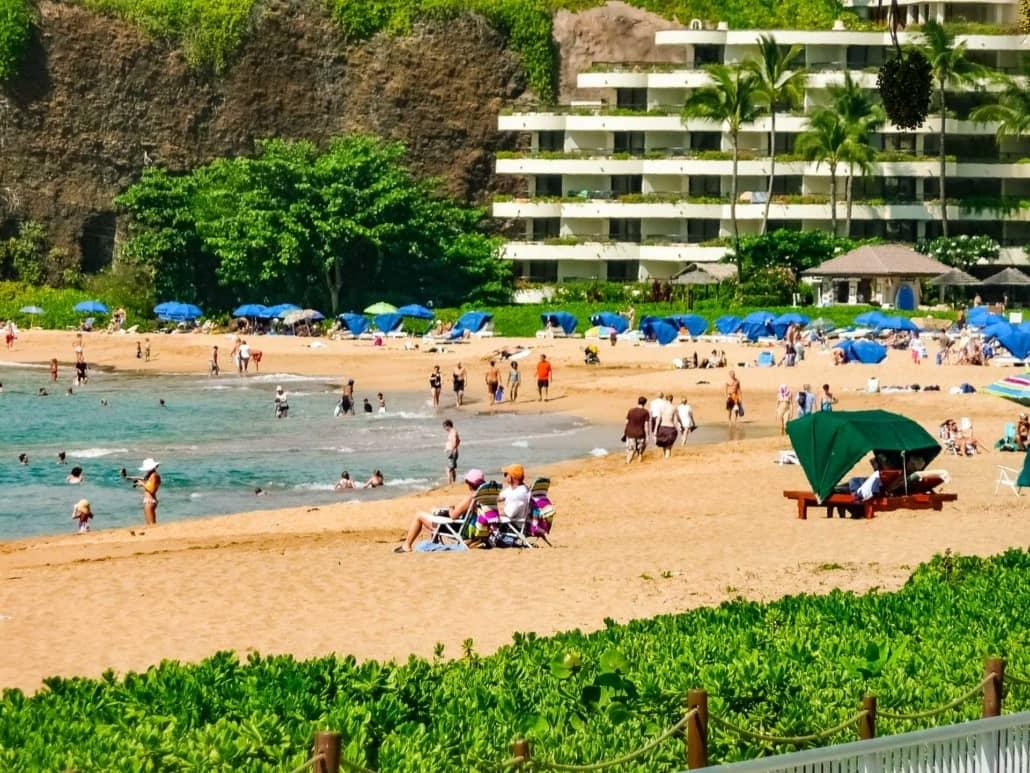 Kaanapali Maui Beach