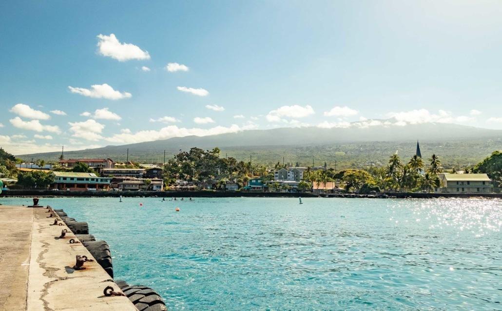 Kailua Pier Kona Big Island
