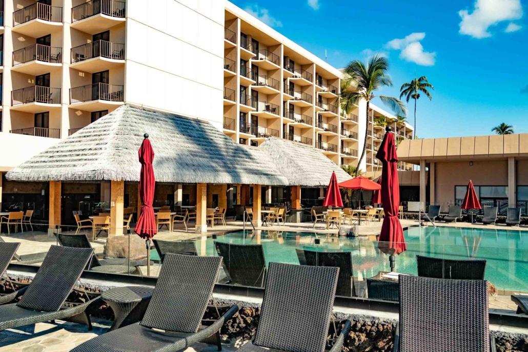 Kamehameha Hotel Kona Pool and Exterior Big Island