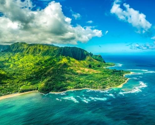 Kauai North Shore Aerial Helicopter Kauai