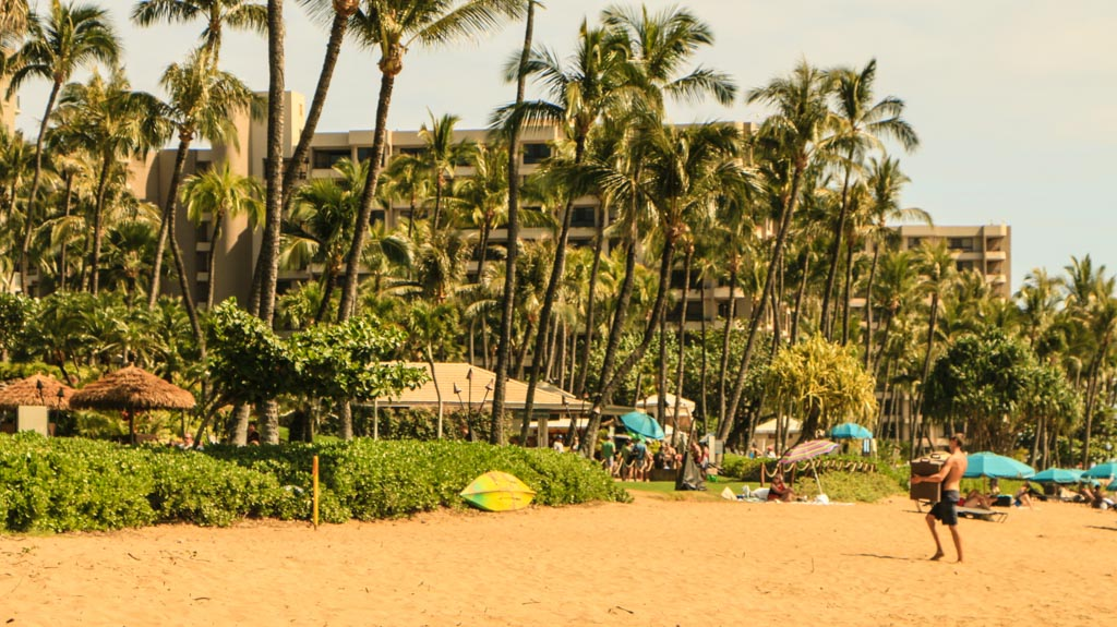 Kaanapali Beach and Hotels Maui