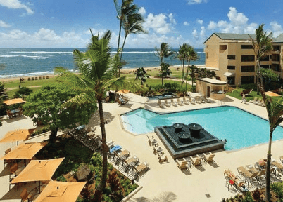 kauai courtyard marriott coconut beach