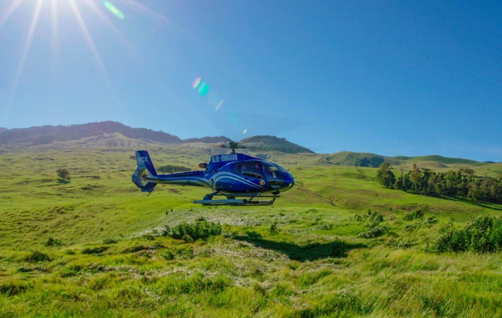 Blue Hawaii Helicopter