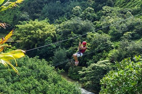 Kauai Solo Ziplining Tour