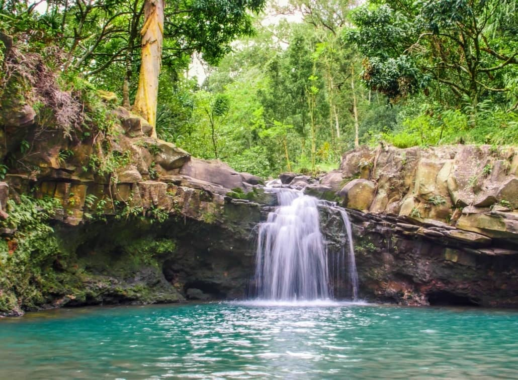 east maui little waterfall