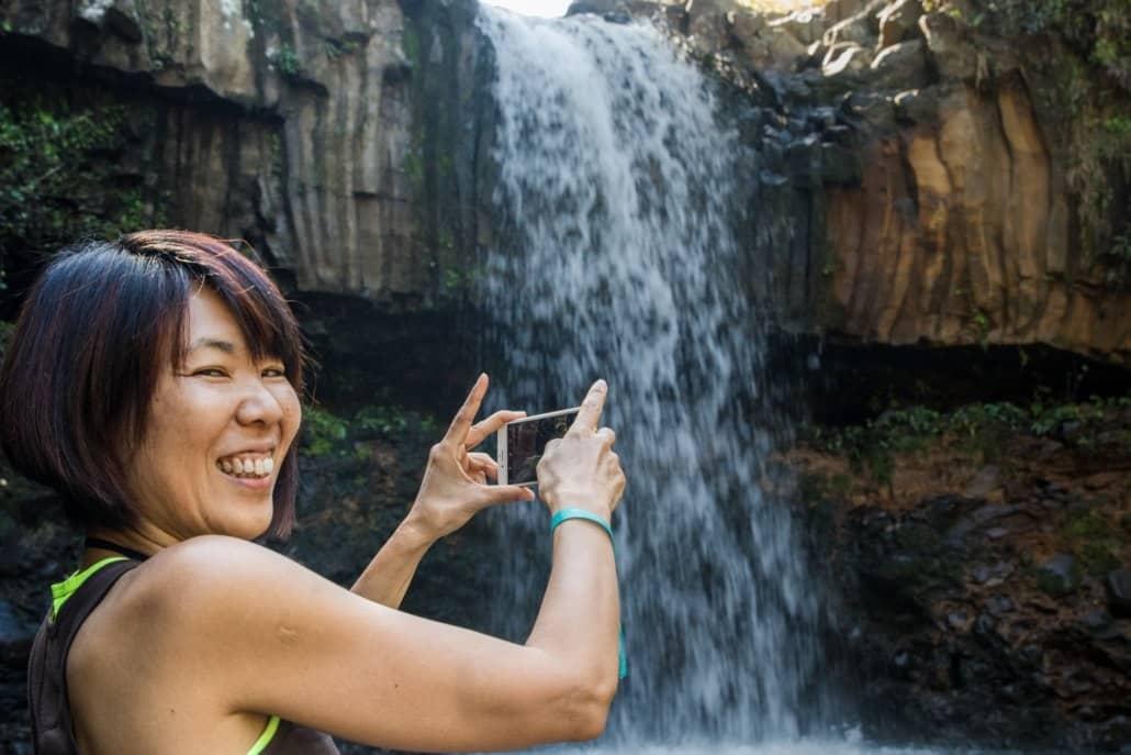 east maui waterfall rainforest
