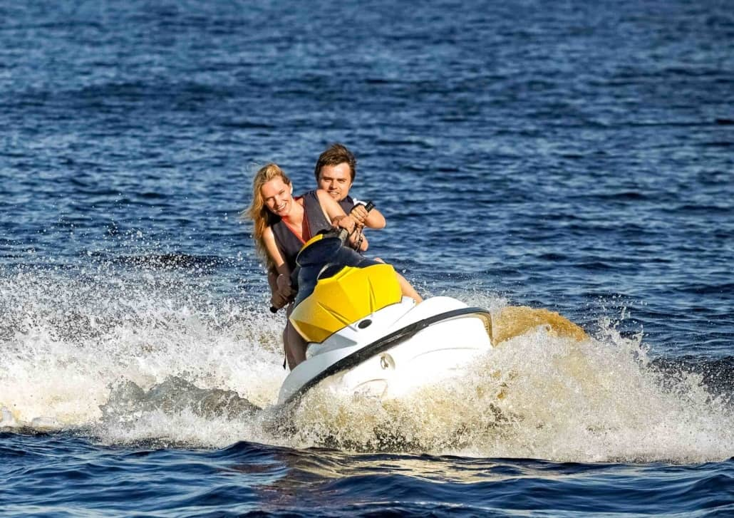 Jet Ski Couple Visitors