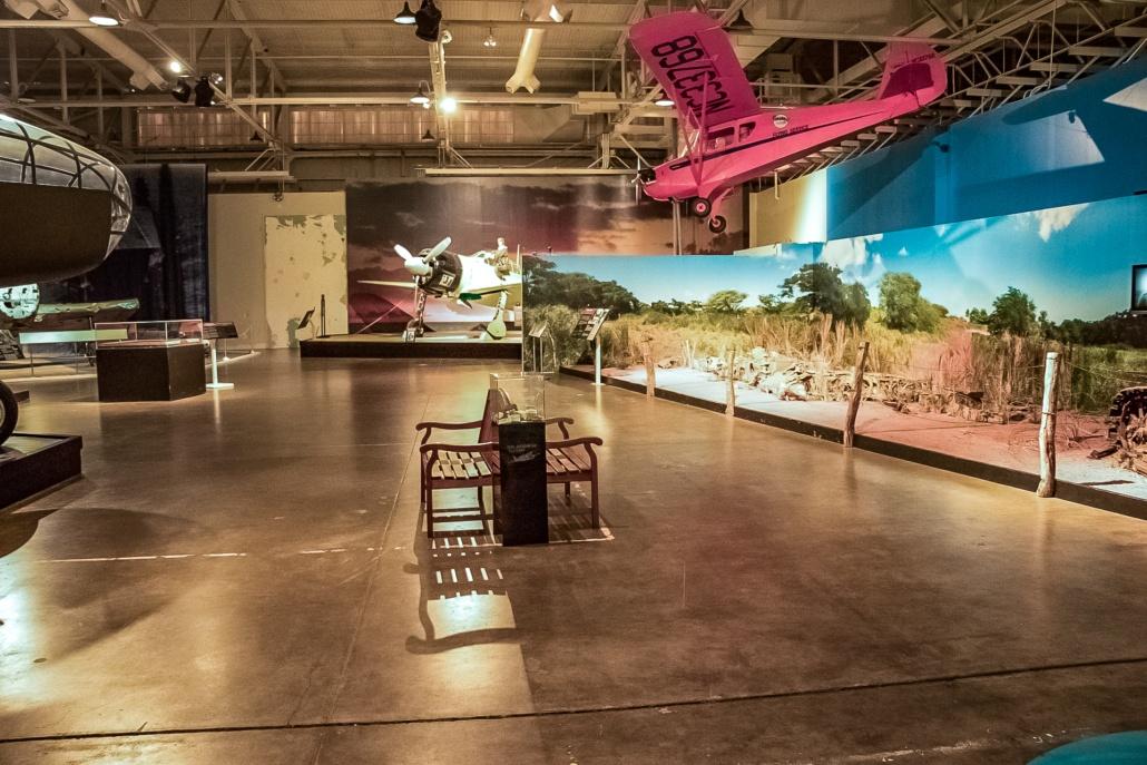 Pearl Harbor Aviation Museum Interior