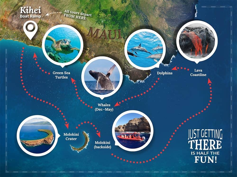 Redline Snorkeling Map