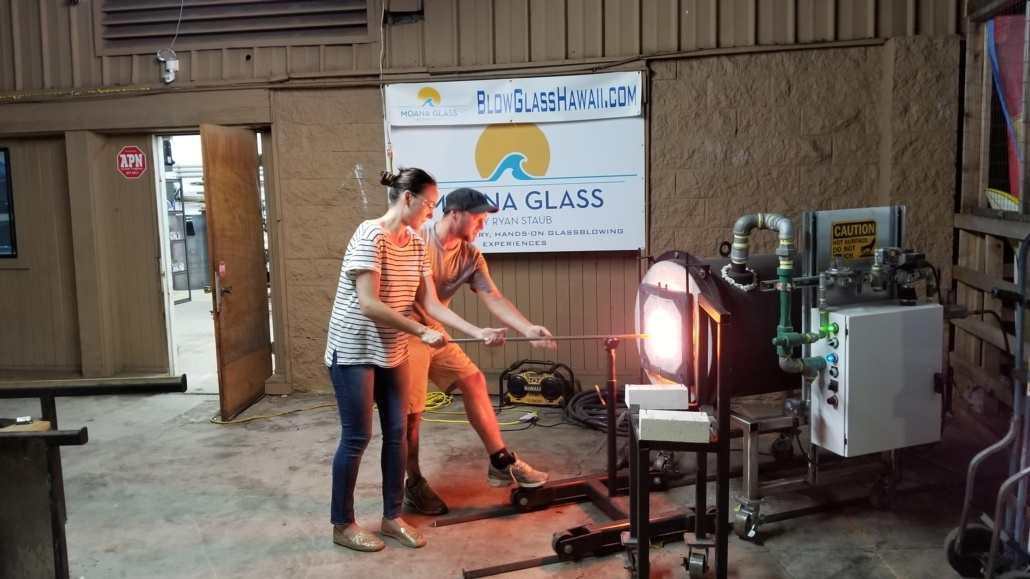 Moana Glass Blowing Lessons