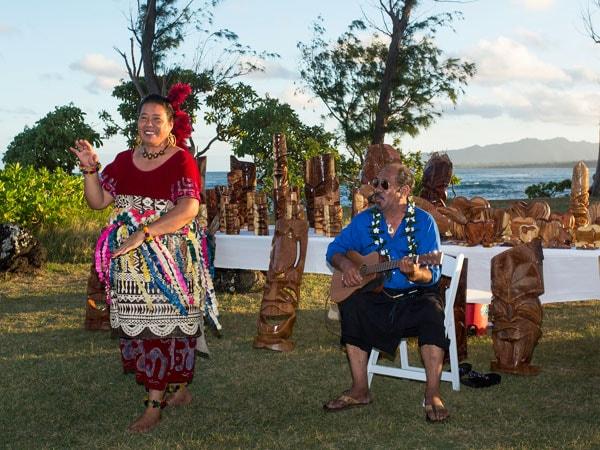 Cultural Presentation at Hawaiian Luau