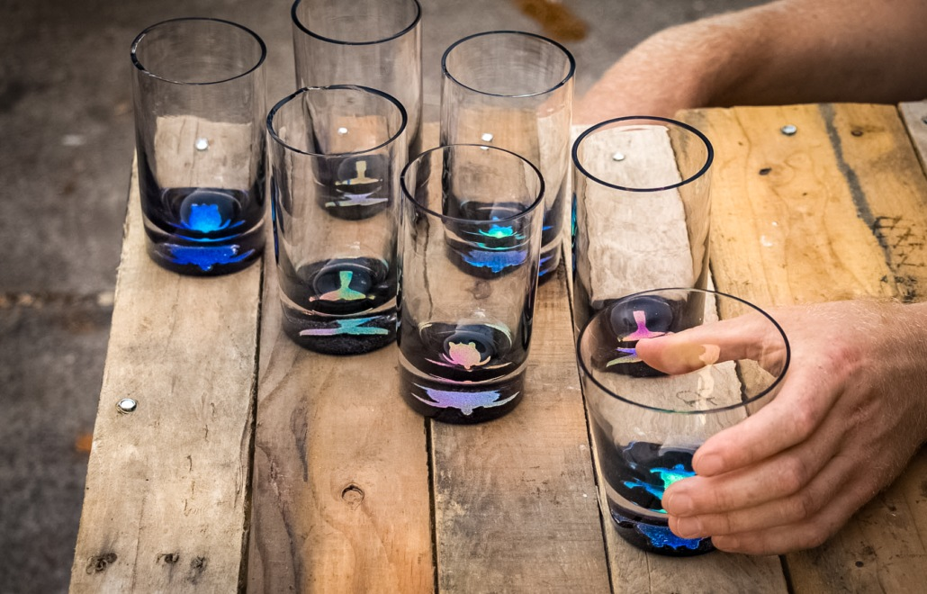 Moana Glass Gallery glasses set