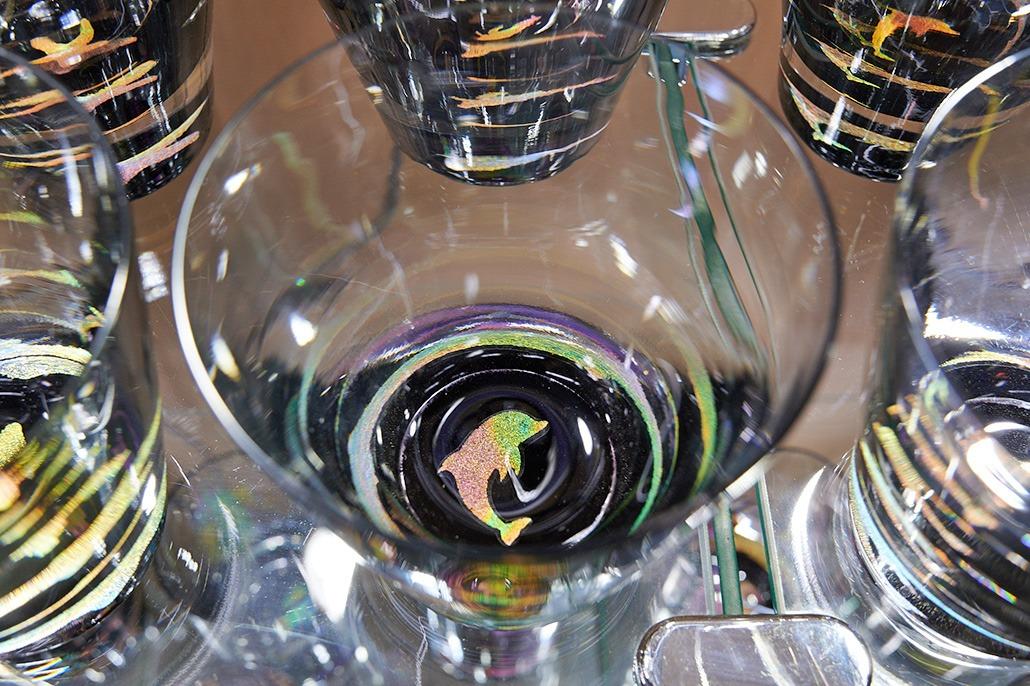 Handmade Glass With Whale