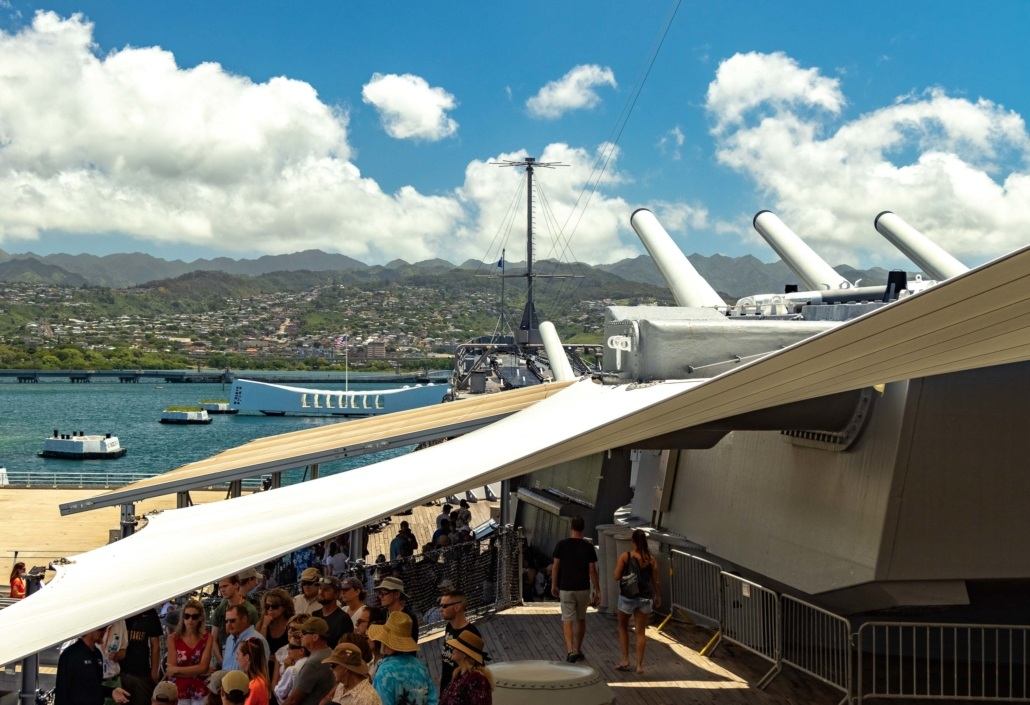 USS Missouri Pearl Harbor Oahu