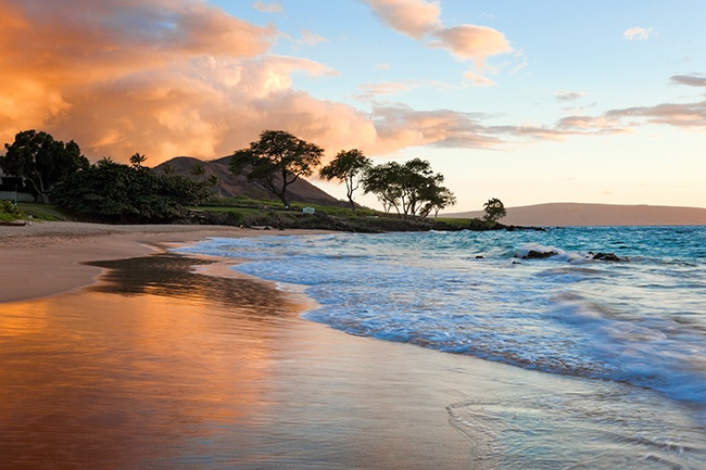 Romantic Maui Sunset
