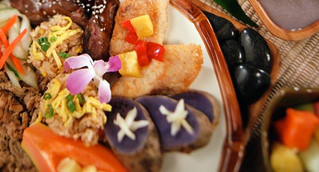 Smiths Luau Food