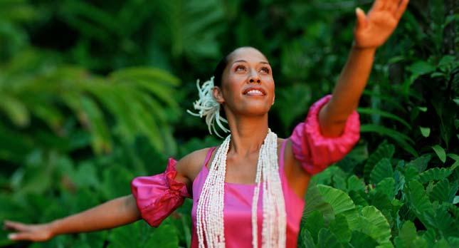 Smiths Luau Hula Dancer