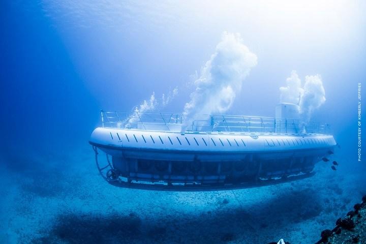 Submarine in Maui