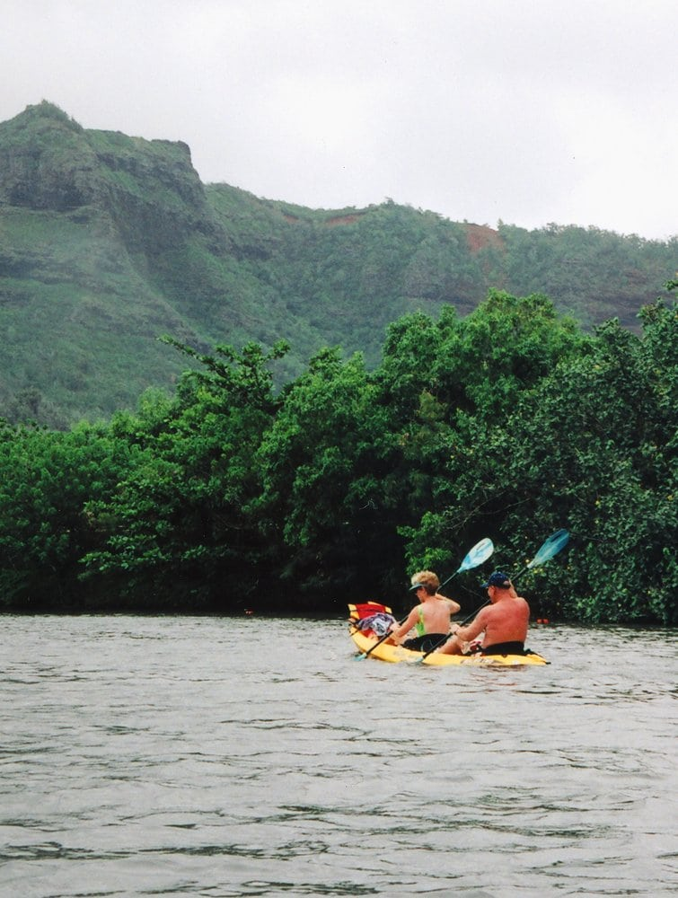 Couple At The Kayak