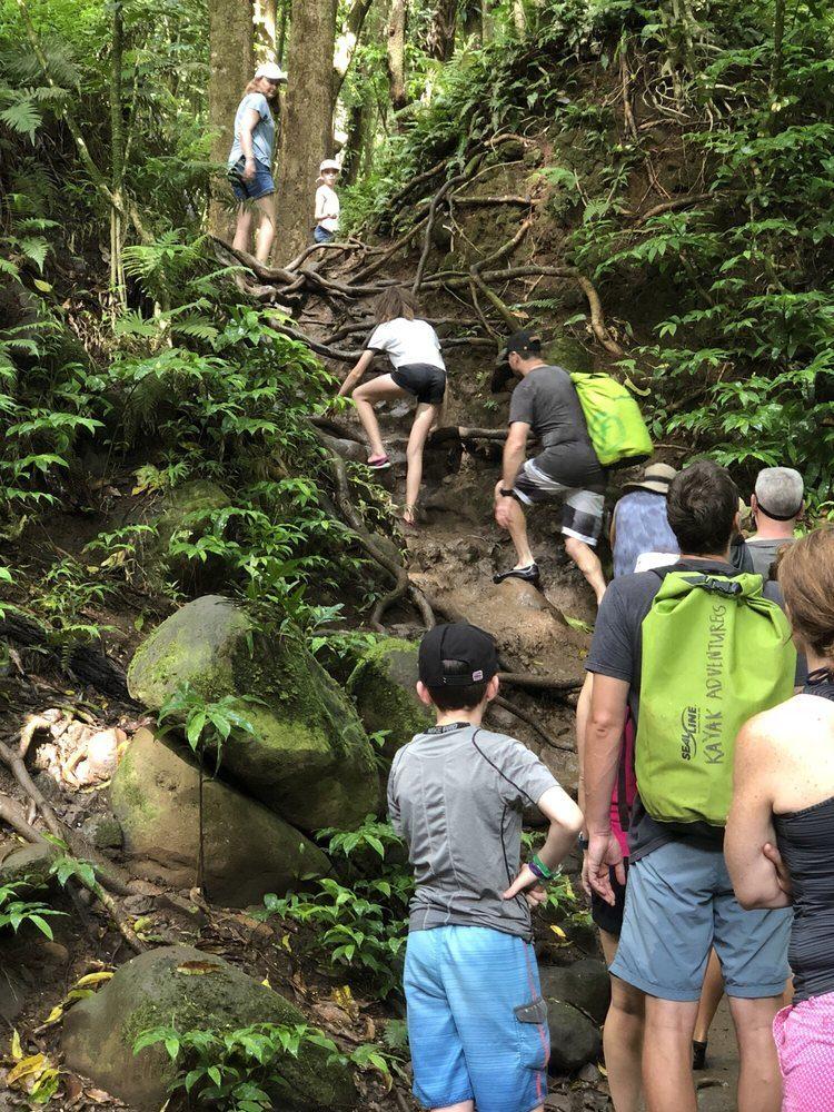 Rock Climb Kayak Tour