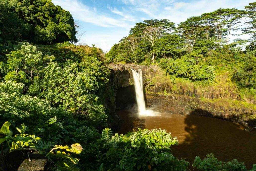 Hilo Rainbow Falls Overlook Big Island