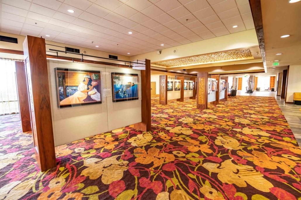 Kamehameha Hotel Lobby Art Gallery Kona Big Island