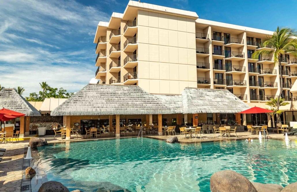 Kamehameha Hotel Pool and Bar Kona Big Island
