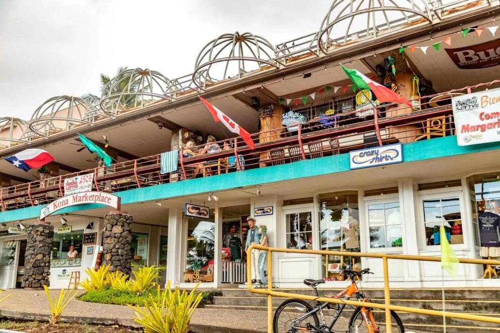 Kona Marketplace Shopping Big Island