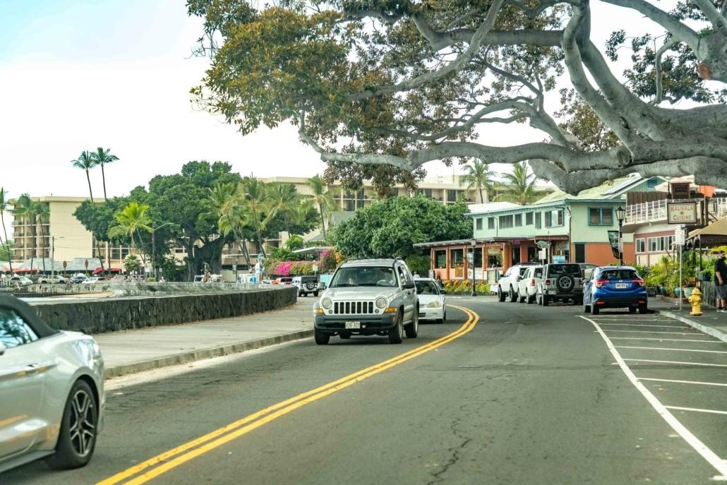 Kona Town Main Street Big Island