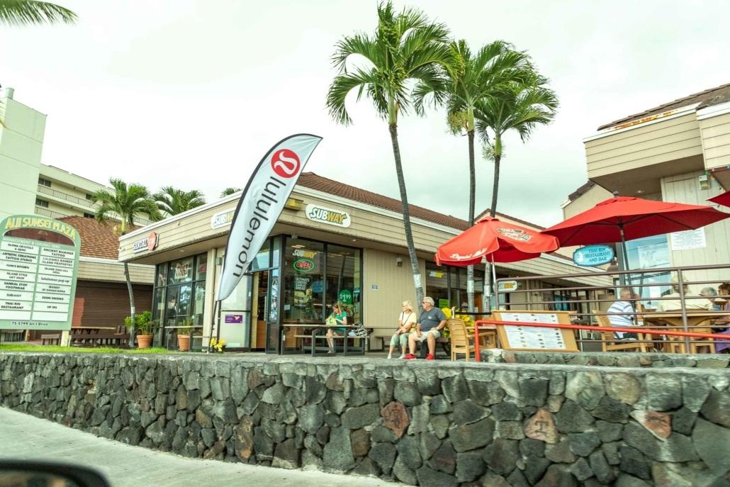 Kona Town Shopping Plaza Big Island