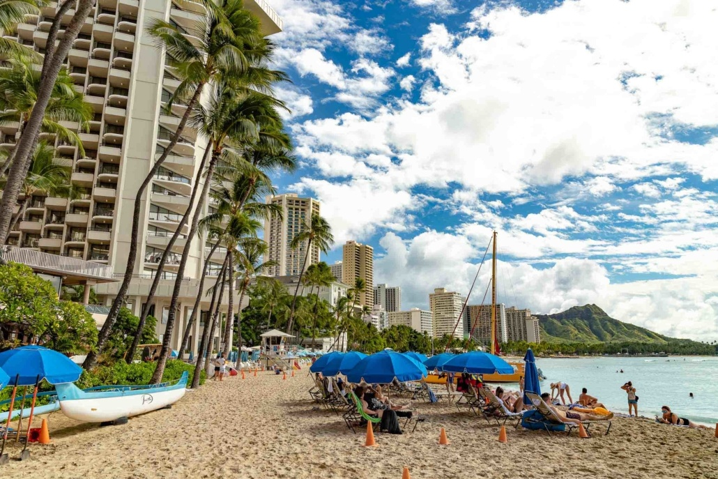 Outrigger Waikiki Hotel Beach and Tower