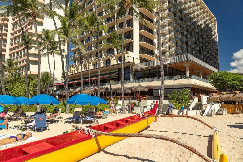 Outrigger Waikiki Hotel Canoe and Tower EX